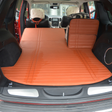after importation car trunk mat + second row back pad for Grand Cherokee Compass warehouse PU leather rugs(China)