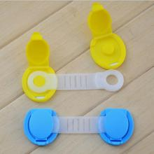 1 Pc Baby Child Kids Drawer Cabinet Lock Long Style Safety Lock Fridge Cabinet Door Lock Plastic Cabinet Locks