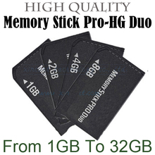 High speed Memory stick pro duo 2/4/8/16/32/64GB original memory card MS card good quality for sony psp camera mobile phone