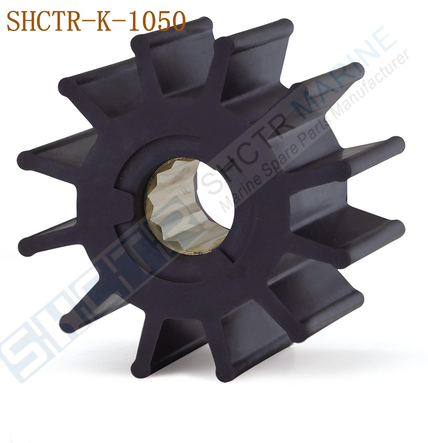 Impeller CEF 500201 GX Jabsco 653-0003 Ersatz für Johnson Pump 09-0810-B9