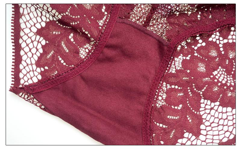 Elegantsest pitsist rinnahoidja ja püksikud