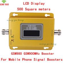LCD display GSM 20dbm power phone booster repeater GSM 900mhz Amplifier booster,GSM 900 signal booster gsm booster For Russia