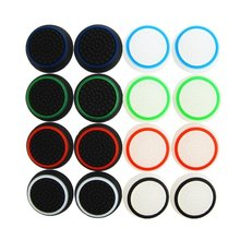 100 pcs PS4 Controller Thumb Grip Thumbstick Cover case For PS4/ Xbox 360/ PS3 /Xbox one Thumb Stick cap Accessories Replacement