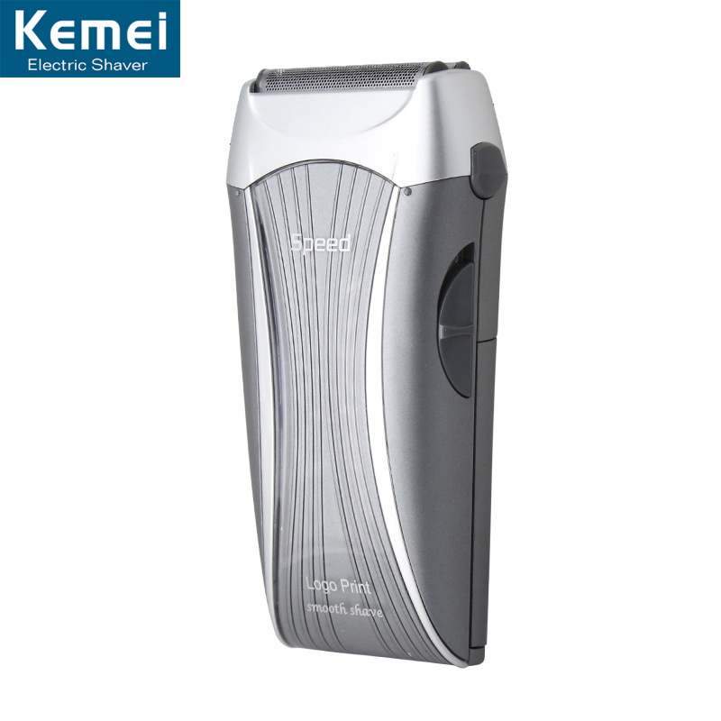 Kemei 700 Electric Skin Care Tools Dry wash hair removal device Man shaver comfortable Epilator Face Care by 2 Batteries<br><br>Aliexpress