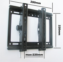 23 inch 32inch 37inch tiltable lcd tv wall mount swivel led tv bracket shelf