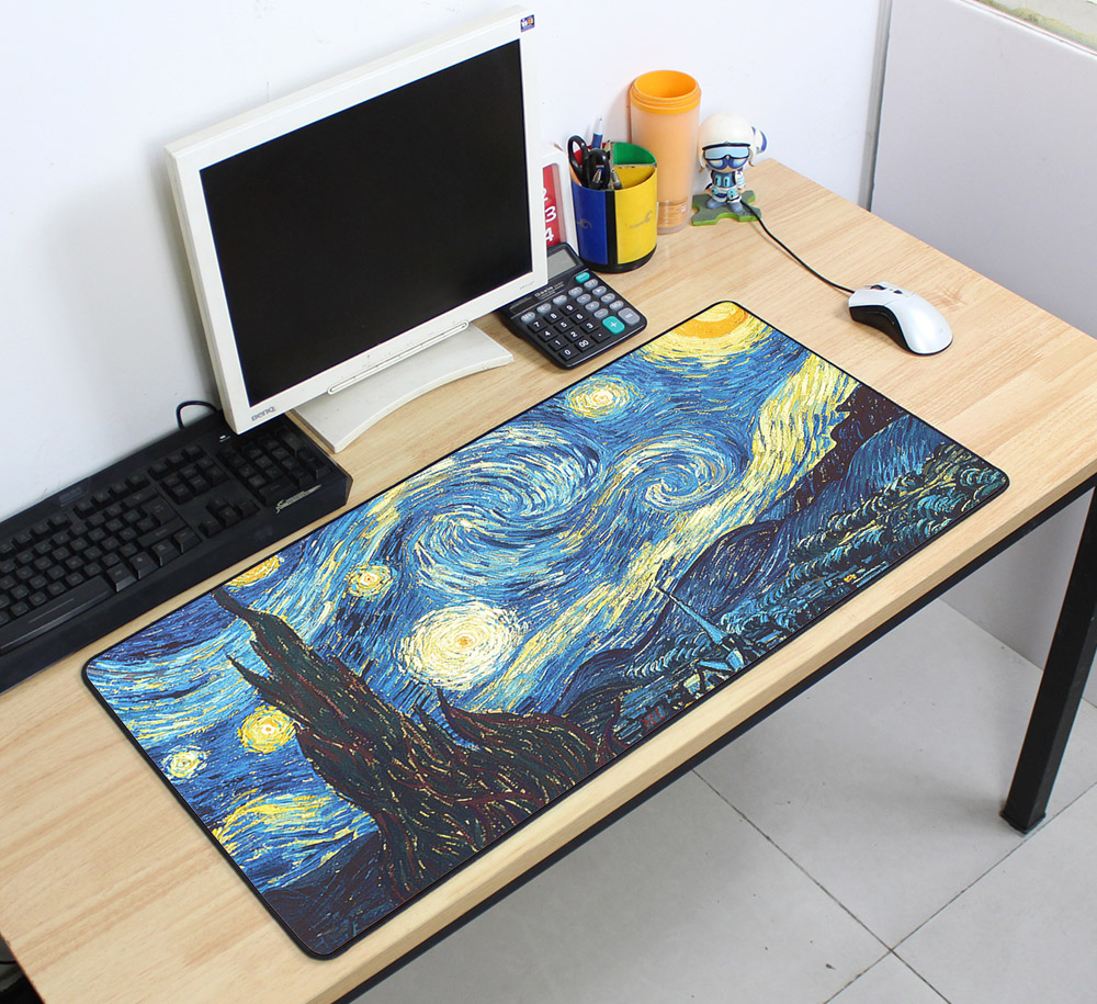 Custom Large mouse pad 700x400mm speed Keyboards Mat Rubber Gaming mousepad Desk Mat for game player Desktop PC Computer Laptop 11