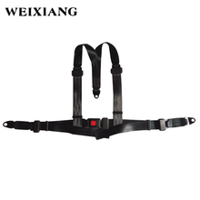 Racing Seat Belt 3 Point Harness 3PT Seat Belt For Kart Sport Car(China)