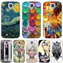Fashion Design Phone Case For Samsung Galaxy S4 I9500 Back Cover Soft Silicone TPU Cases For Galaxy S4 I9500 5.0 inch(China)