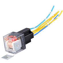 DC12v/24v 4pin 5pin car styling car relay for car speakerfo car LED 80A(China)