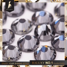 Crystal Castle flatback rhinestone black diamond non hot fix crystal none glue no hotfix strass rhinestones for nail art diy