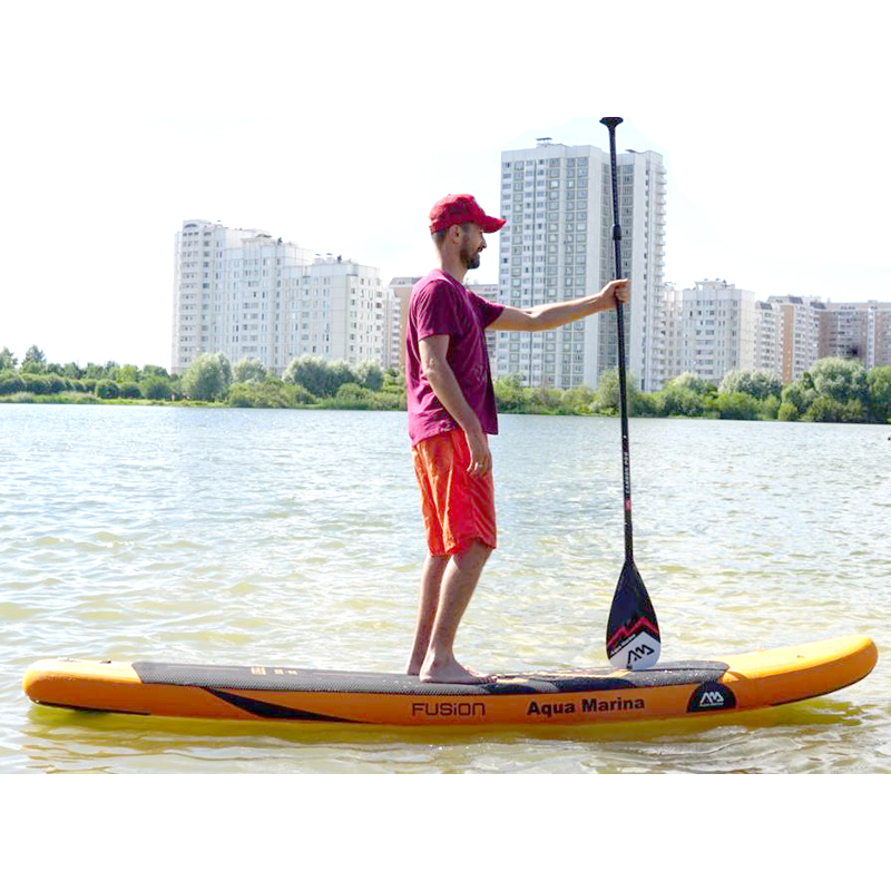 Black Orange surfboard stand up paddle board | SUP Boards