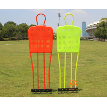 Soccer training people wall iron Football fake person steel wall players dribbling free kick training mannequin(China)