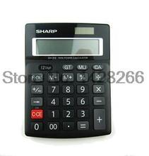 SHARP Sharp calculator CH-312 Business calculator small desktop office calculator Authentic(China)