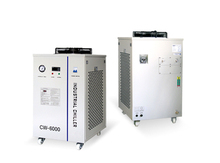 CW6000AG industry chiller for co2 laser engraving and cutting machine tube  150w