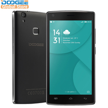 DOOGEE X5 Max mobile phones fingerprint 4000mAH 5.0InchHD 1GB+8GB smart phone MT6580 Quad Core Android 6.0 Dual SIM cellphone(China)