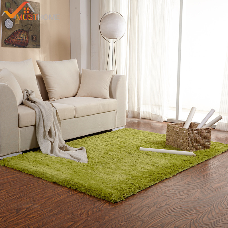 soft rug for living room microfiber silk carpet 100*120cm/39.37*47.24in(China)