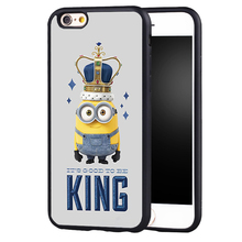 Minions Movie King Bob case cover for Samsung Galaxy s6 S7 edge S8 plus s4 s5 note 2 3 4 5
