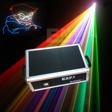 Water Screen Movie Fountain Outdoor 3d 6w Advertising Laser Projector(China)