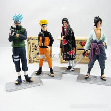 Good PVC Anime 17th Generation Naruto Model brinquedos Toy Action Figure 4pcs/set For Decoration Collection Gift(China)