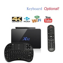X92 TV Box Amlogic S912 Android 6.0 Octa-core 2.4GHz/5.8GHz WiFi HD 2.0a with USB 2.0 SD Card Slot 5G Wifi 4K BT Smart TV Box