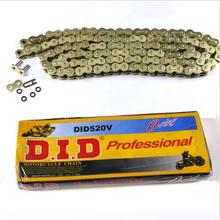 High Quality 520 120L Gold O Ring Drive Chain For road sport dirt bike crf yz TA(China)