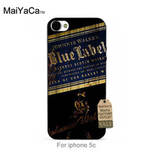 MaiYaCa soft black tpu silicone Classic Whiskey Johnnie Walker Blue Label Accessories Shell For iPhone se 5c 6s 7 plus case(China)