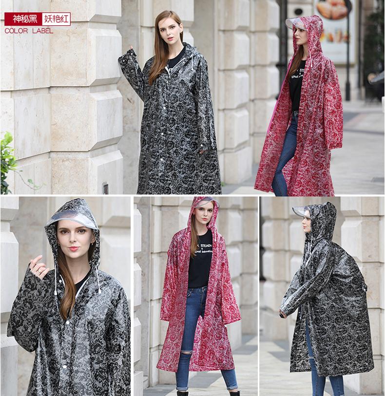 Women Lace Raincoats 14