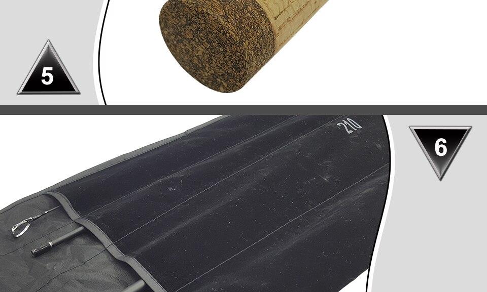 K8356 1.8-3.0m Ultra Light Portable M Power 4 Section Carbon Fiber BaitcastingSpinning Fishing Rod 10-25g 12-25Ib Travel Rod_10