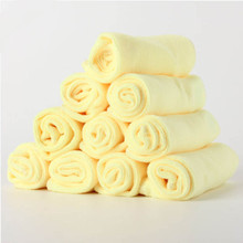10Pcs/lot 30*30cm Microfiber Car Cleaning Cloths Car Care Microfibre Wax Polishing Detailing Towels Washing Drying Cloths