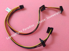 Free Shipping New For Dell optiplex 3020 MT Mini Tower 8pin 4 SATA Power Cable 0C8T8C Hard disk wire