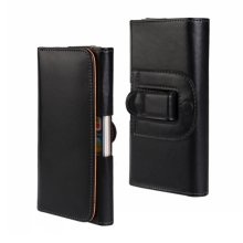 Belt Clip Case For Sony Xperia S SP L V T M2 Holster Cover Leather Pouch Universal Mobile Phone Bag Accessory Men Outdoor Cases(China)