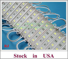LED module waterproof IP65 LED module light for sign letters and channel letter SMD 5050 DC12V 3 led shipping from local USA(China)