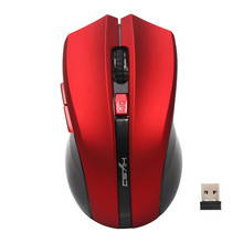 Best Price 2.4G Adjustable 2400 DPI Wireless Optical Mouse Mice For Computer PC Laptop(China)