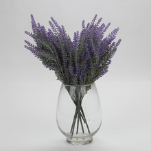 38cm Artificial Lavender Flowers Wedding Christmas Party Table Decoration Bouquet 25 Head For One pcs Simulation Flowers(China)
