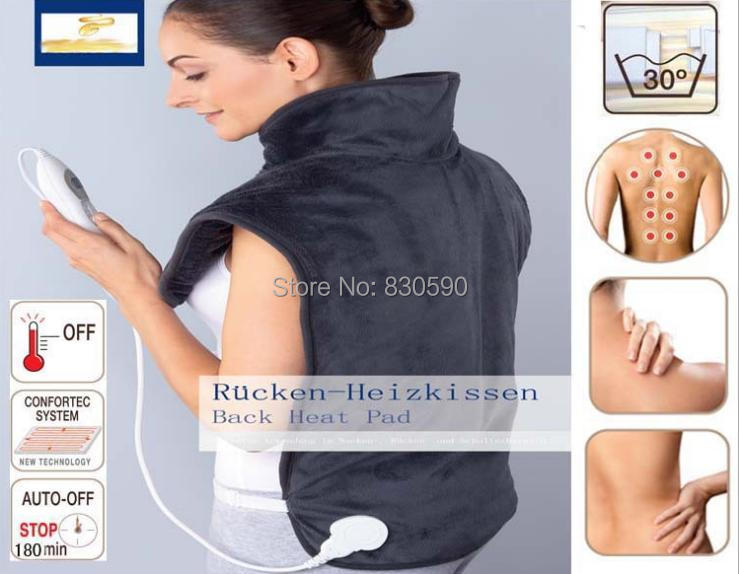 Quality  physiotherapy electric heating vest back support shoulder pad vest heated shawl suitable for back pain relief<br>