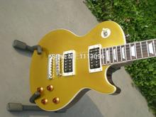 Electric guitar free shipping guitar+lp slash guitar+gold top+H-H pickups electric guitar/guitarra/guitar in china