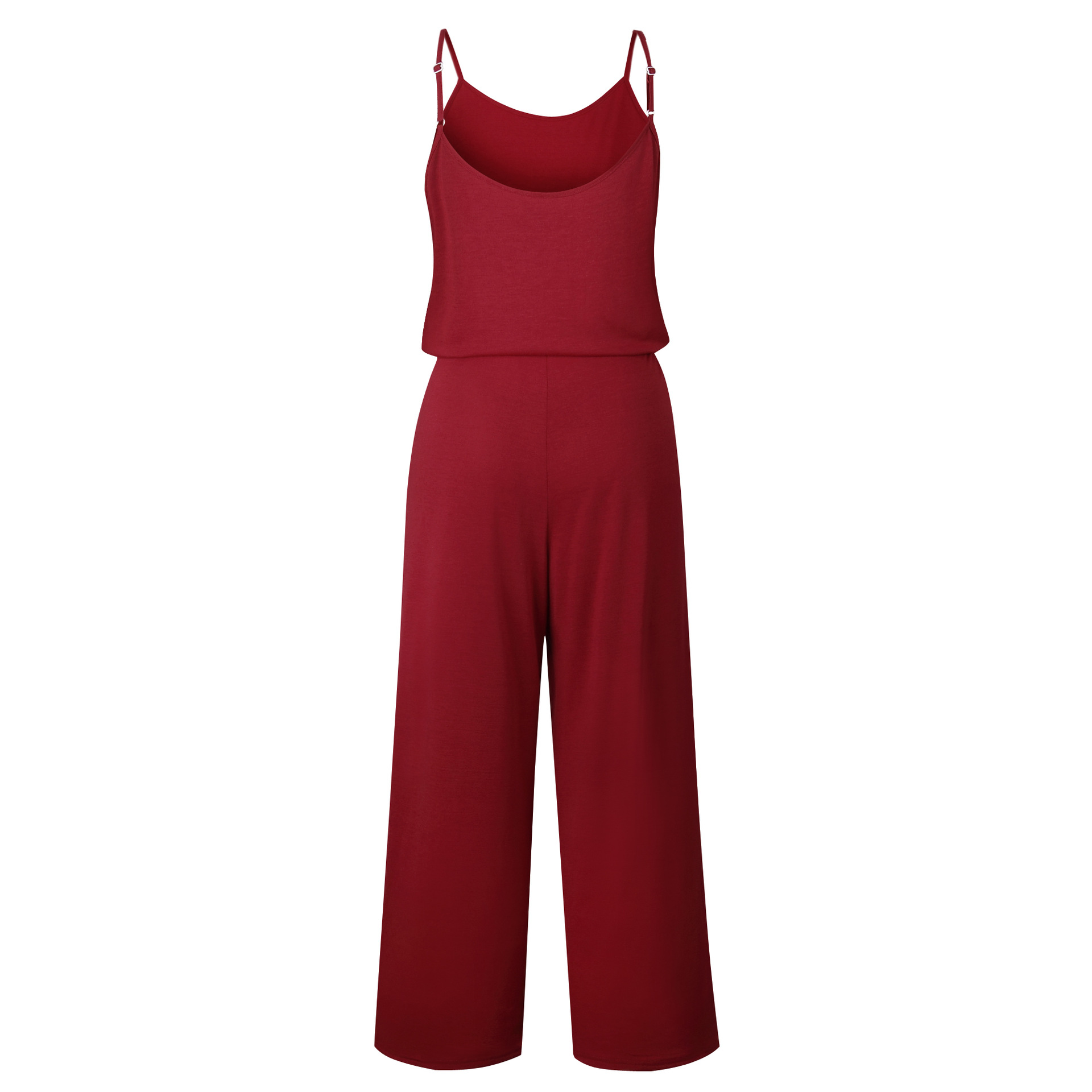 Spaghetti Strap Jumpsuit Women 2018 Summer Long Pants Floral Print Rompers Beach Casual Jumpsuits Sleeveless Sashes Playsuits 62