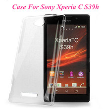 Wholesales Price 1 Pc New Glossy Transparent Clear Crystal Hard Plastic Case Cover For Sony Xperia C S39h C2305 High Quality