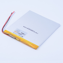 3194105 3.7V 4300mAh Rechargeable Li-Polymer Li-ion Battery For Tablet PC Onda V820W 16G 32G onda v80 plus DVD 3-wire 3494105
