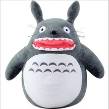 Big Totoro Plush peluche toys 40cm large soft 2016 New Kawaii my neighbor Totoro juguetes brinquedos pelucia gifts doll(China)
