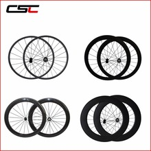 Carbon Wheels 24mm 38mm 50mm 60mm 88mm Depth Profile Tubular Or Clincher Chinese Super Light Carbon Wheelset(China)