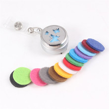 Butterfly Retractable Ski Pass ID Card Badge Holder Reel Pull Key Name Tag Card Holder Keychain For Nursing Hospital Office(China)