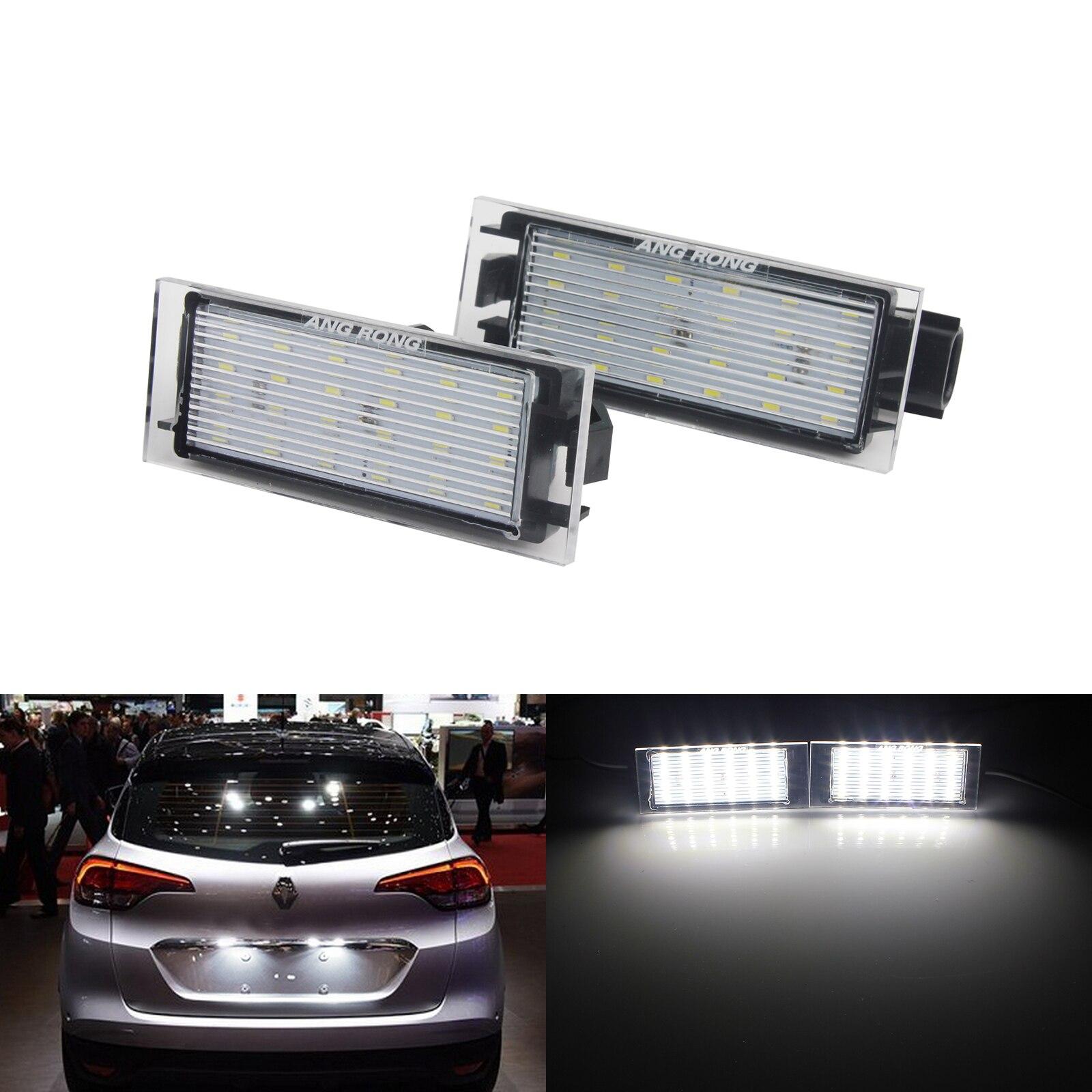 Renault Megane MK2 501 W5W White Interior Door Bulb LED High Power Light Upgrade