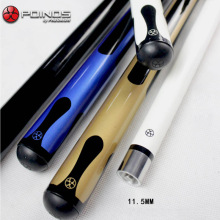11.5mm Maple Wood Nine-ball Ball Arm 1/2 Split Cue Pool Billiard Cue Stick Center Joint Billiard Cue Accessories 2015(China)