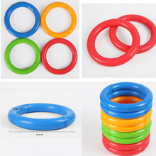 1Pcs Gymnastics Ring Throwing Game Kids Gymnastics Equipment Jumping Games Children Outdoor Morning Exercises Sports Toys(China)