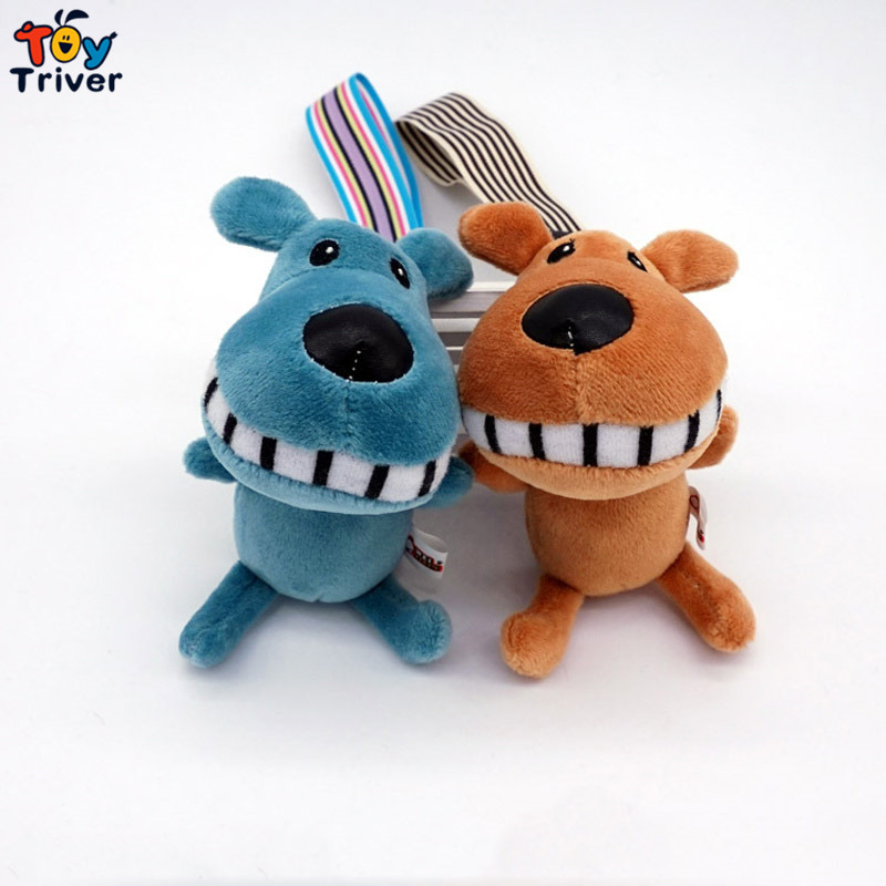 Wholesale Plush Kawaii Buck Teeth Dog Toys Doll Keychain Keyrinf Bag Wallet Pendant Accessory Birthday Wedding Party Gift Triver<br><br>Aliexpress