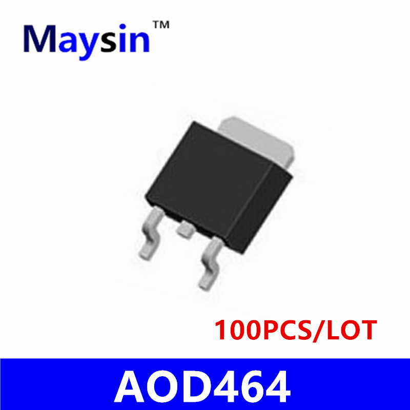 100PCS AOD464 D464 T0-252 SMD<br>