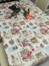 free shipping 100% cotton tablecloth fabric table cloth  Spring Flowers  table cloth table on sale