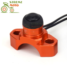 CNC Billet Universal Engine Kill Switch On Off Button For KTM EXC EXCF XC XCF XCW XCFW MX SX SXF 125 150 200 250 300 350 400 450(China)