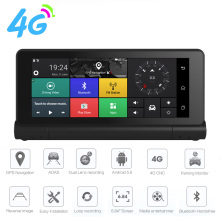 "4G ADAS Car DVR GPS Navigator Camera 6.84"" Android 5.0 Bluetooth HD 1080P Video Recorder Camera Registrar 16GB ROM(China)"